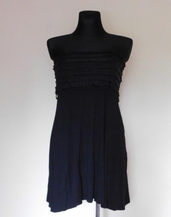 Suknie i sukienki Tally Weijl czarna sukienka mini 36