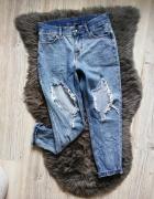 Spodnie mom boyfriend Calzedonia 34 dziury...