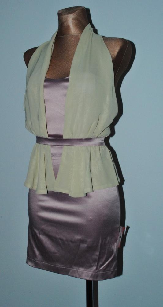 Suknie i sukienki sukienka asos szyfon 8 s