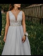 Suknia ślubna Piper 38 M i welon...