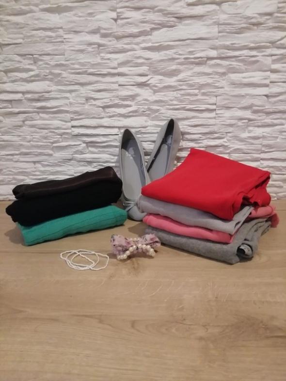 HIT cenowy zestaw sweterków bluzek XS...