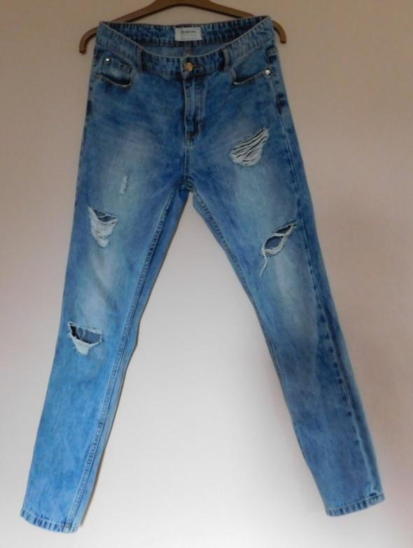 Spodnie Stravidarius spodnie jeans 38
