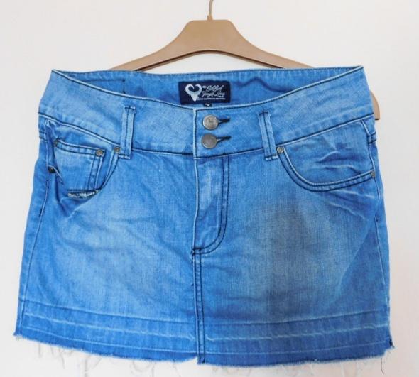 Spódnice Bik Bok spódnica mini jeans 40