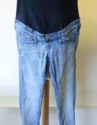 Spodnie H&M Mama Skinny Rurki S 36 Dzinsowe Jeans...