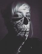 Bandana chusta skull czaszka kościotrup...