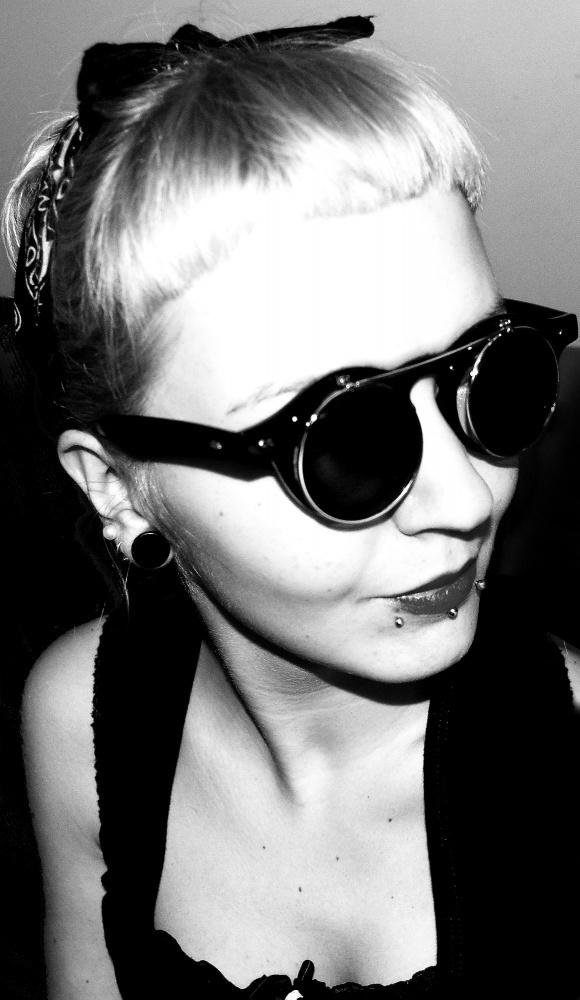 Okulary Brylove Steampunk Gogle Okulary Okrągłe goth gotic