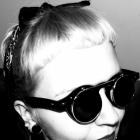 Brylove Steampunk Gogle Okulary Okrągłe goth gotic