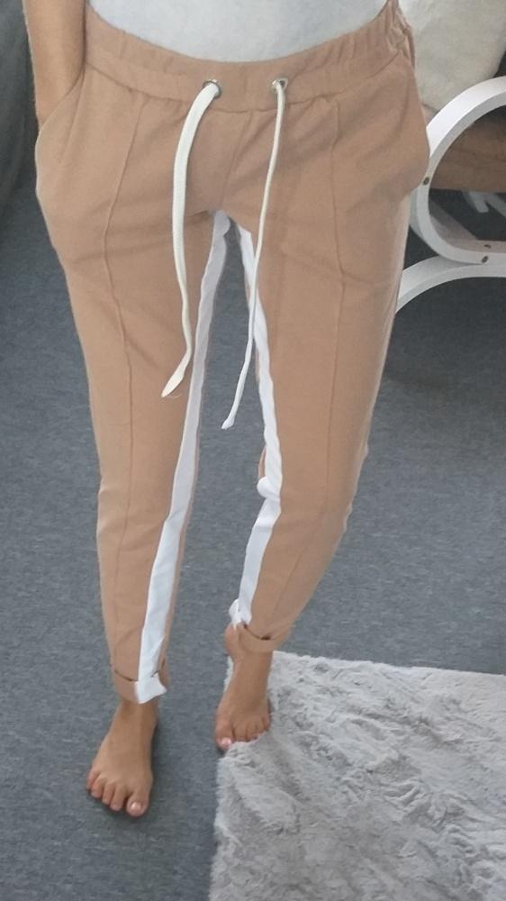 Nowe spodnie materiałowe S