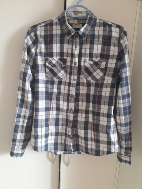 Koszule Koszula w kratę