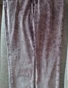 Spodnie sztruksy rurki cieniowane 48 50...