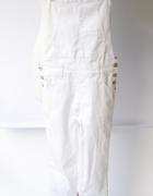 Ogrodniczki Białe XXS 32 Rurki Dzinsowe Fishbone Jeans...