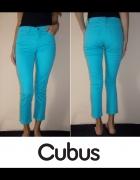 Spodnie jeansowe Cubus xxs 32 jeans rurki niebiesk...