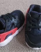 Dziecięce Nike huarache Run GS Granatowy Różowy 21...
