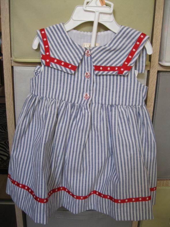 Sukienki i spódniczki nowa sukienka LAURA ASHLEY 80 marynarska