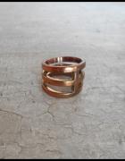 HM złoty pierścionek S...