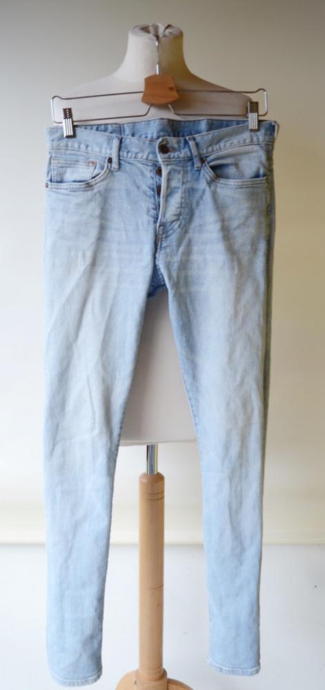 Spodnie Jeans Dzins Slim Low Waist 29 32 S 36 H&M...