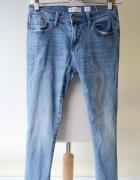 Spodnie Jeans Cubus Poszarpane S 36 Dzinsowe Jeansowe...