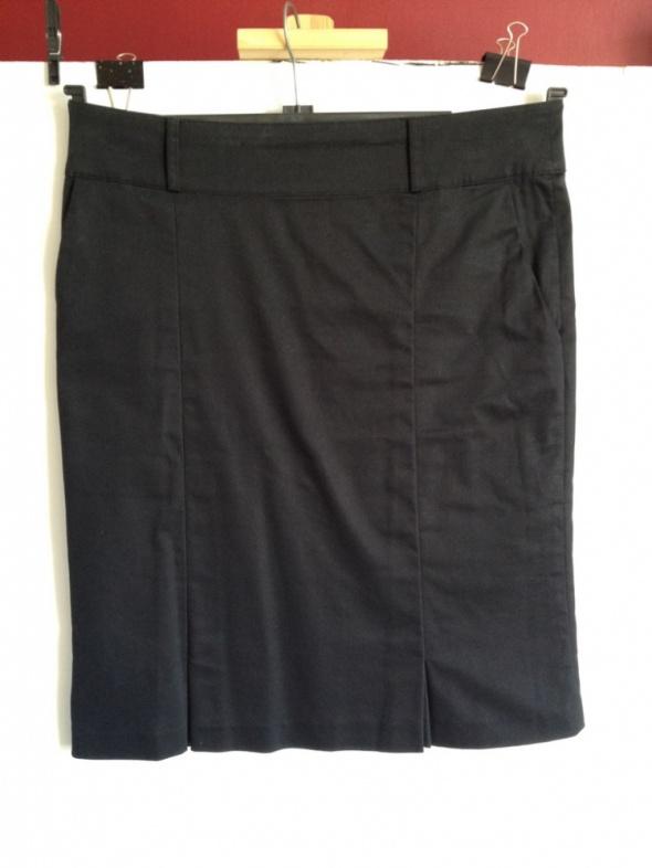 Czarna olowkowa elegancka spódniczka H&M rozm 38