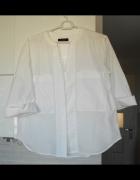 Autograph klasyczna biała koszula kieszenie...
