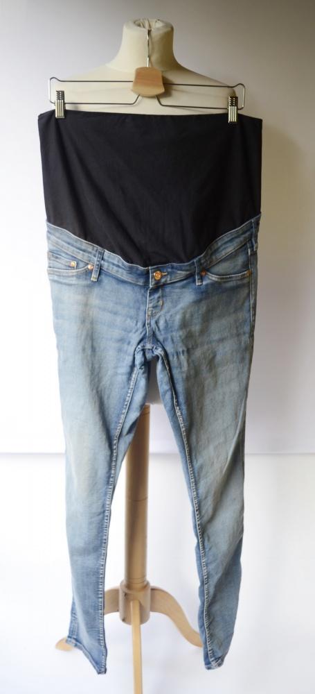 Spodnie Ciążowe H&M Mama Dzinsy Skinny XXL 44 Rurki...