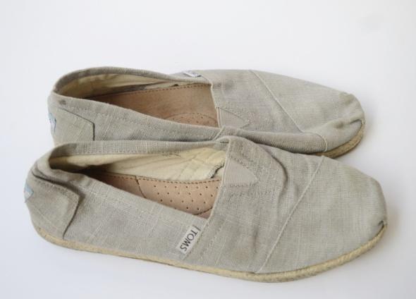 Sandały Espadryle Szare Toms Szarość 41 265 cm Szary