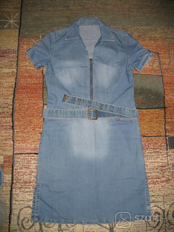 sukienka dżinsowa...
