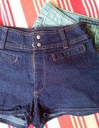 Jeansowe spodenki wydłużające nogi...