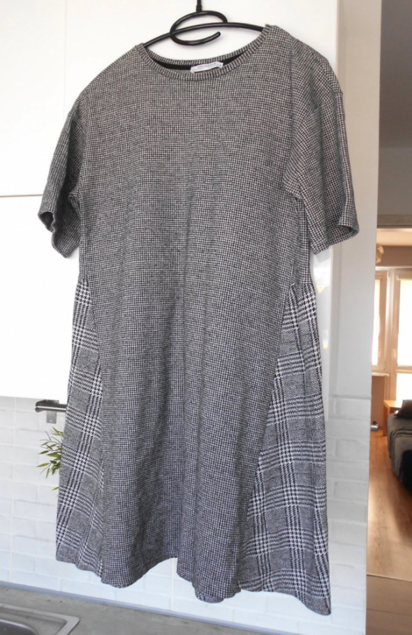 Zara nowa sukienka pepitka kratka oversize...