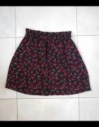 Only spódniczka wisienki wzory print...