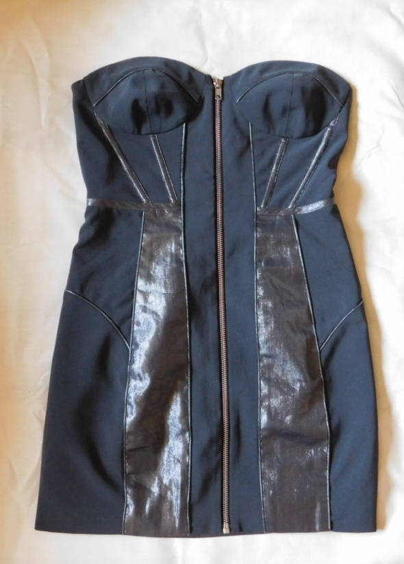 Suknie i sukienki Asos szara sukienka mini sexy 34 36