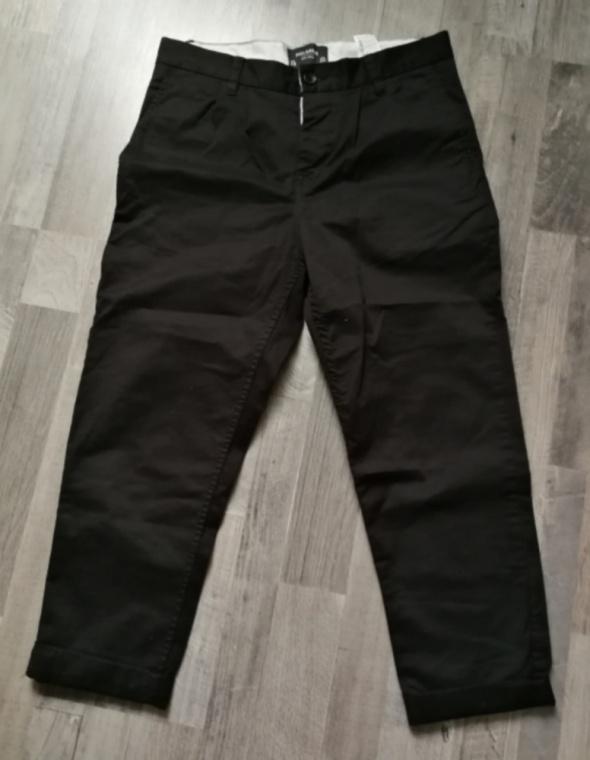 Eleganckie Czarne spodnie pull&bear