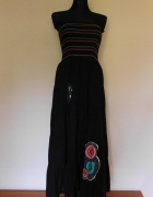F de la passion sukienka czarna długa 38 40...