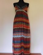 Shescool długa maxi sukienka kolor 40...