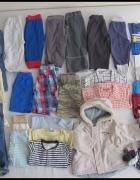 Zestaw ubrań chłopięcych 80 i 86 ponad 30 sztuk...