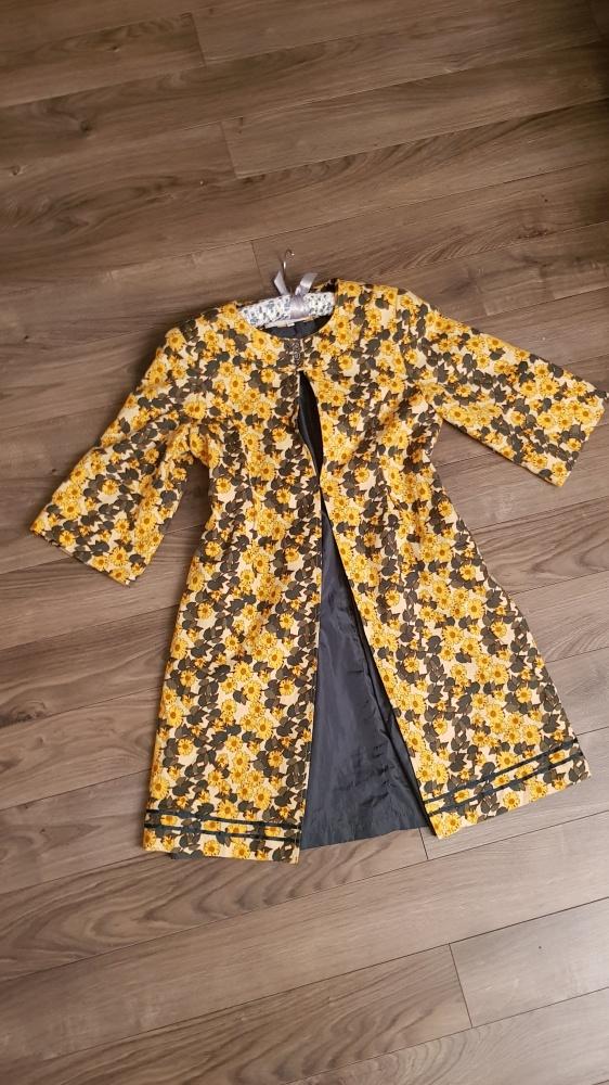 Płaszczyk Riverside M L kwiaty kimono narzutka...