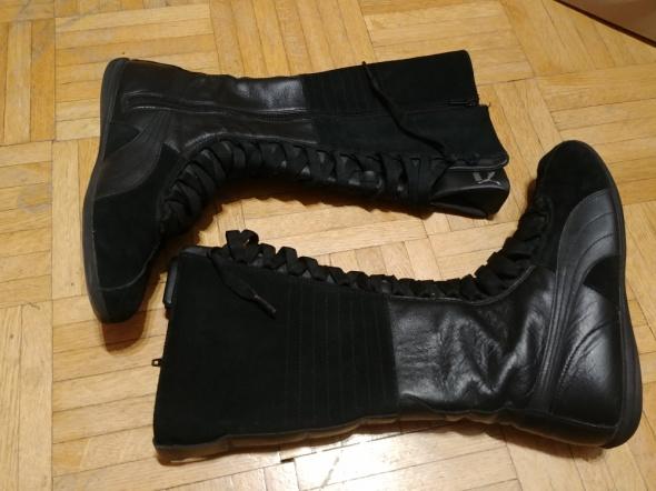 Bokserki damskie buty Puma Eskiva Very Hi 365 czarne