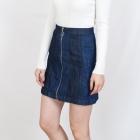 Spódnica H&M dżinsowa na suwak rozm 38 hit jeans