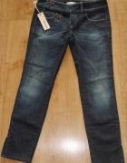 Nowe z metkami spodnie Diesel rozm 36 w27 rurki dżinsy jeansy...