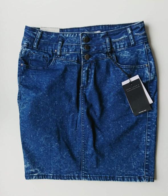 New Look jeansowa ołówkowa spódnica...