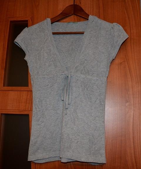 Koszulki Bluzka ażurkowa S