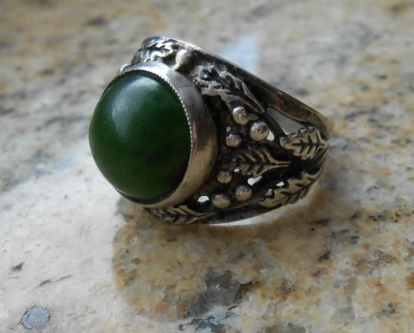 Warmet pierścionek wzór dębowy