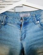 spodnie dżinsowe jasne...