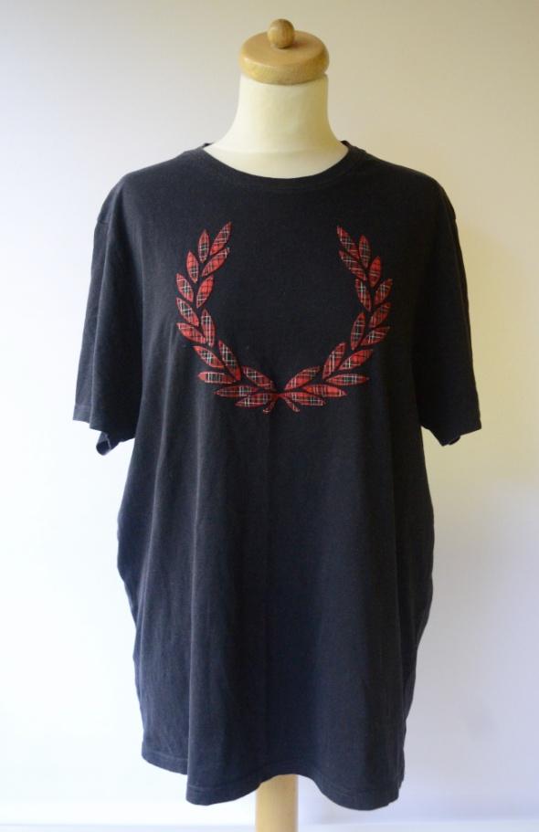 Bluzka T Shirt Granatowy Fred Perry XL 42 Koszulka