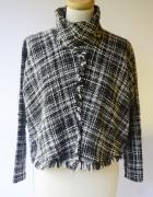 Bluzka Golf Zara Woman S 36 Kratka Krótka Postrzępiona...