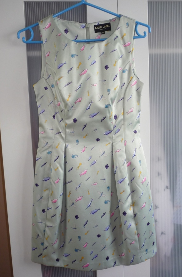 Mohito Gold Label Sukienka w Rybki Tulipan 34
