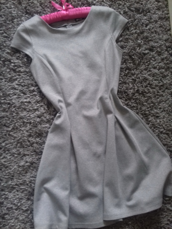 SInSay szara sukienka 36 s