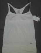 Biała koszulka NIKE FIT DRY nowa L Fitness sport...