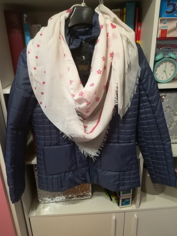 Nowa jesienna pikowana kurteczka z diamentem