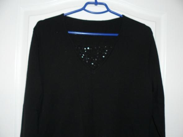 Czarny sweterek XL...