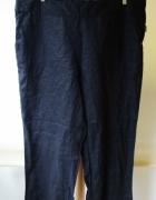Spodnie Czarne NOWE KappAhl XLNT 52 Len Lniane...